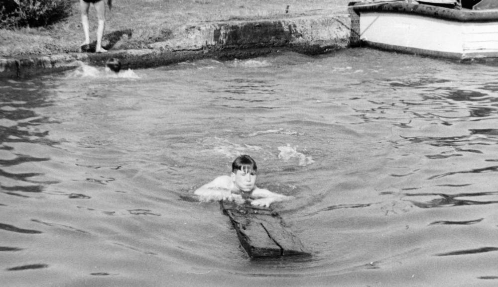 Swimming in the canal 1959